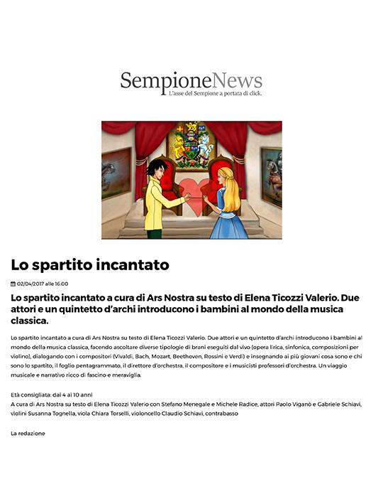 Lo spartito incantato _ Sempione News-1